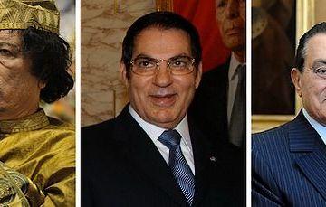 Khadaffi, Ben Ali en Mubarak - Foto: CC
