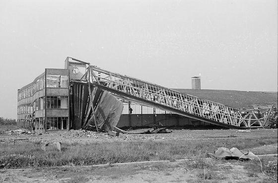 Schiphol werd tijdens de Tweede Wereldoorlog verschillende keren gebombardeerd