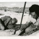 Mary Leakey aan het werk (wiki)