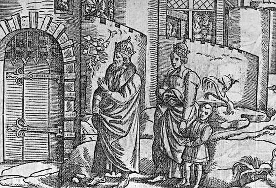 """De """"gang naar Canossa"""" van Hendrik VI"""