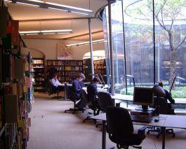 Studiezaal van het NIOD
