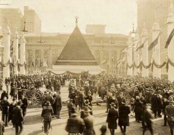 Een bijzondere piramide in New York (1918)
