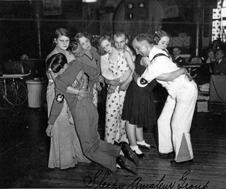 Dansmarathon in Chicago, ca. 1930