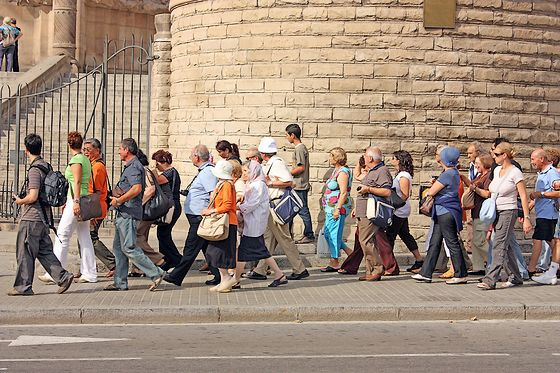 Toeristen - Foto: stock.xchng