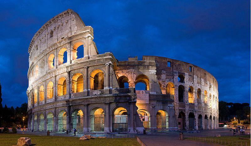 Colosseum in Rome - Foto: CC/Diliff
