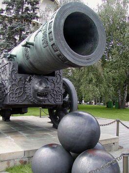 Tsarenkanon in Moskou - Foto: CC