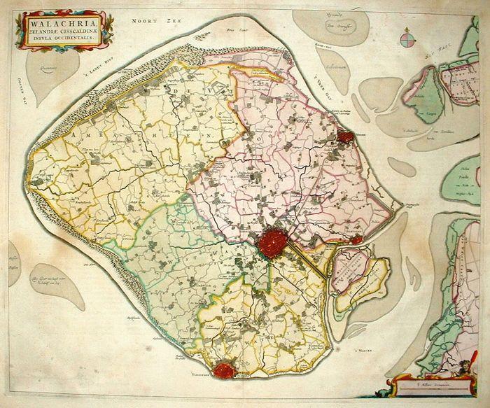 Een van de kaarten waarop geboden kan worden - Afb: Catawiki