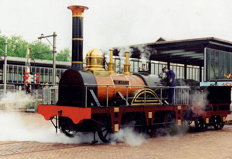 Oude stoomtrein - Foto: Spoorwegmuseum