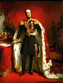 Nicolaas Pieneman, Portret van koning Willem II, 1849, Staatsmuseum Hermitage, St. Petersburg