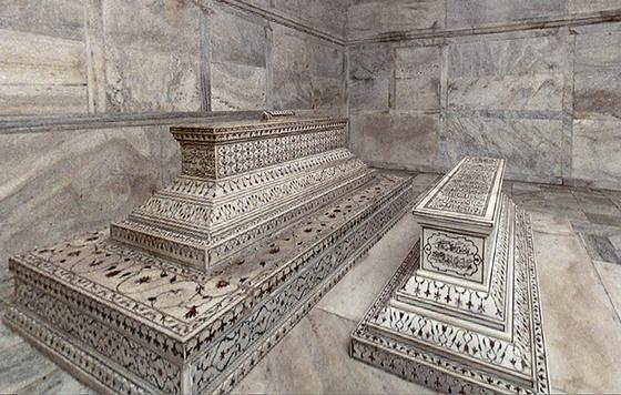 Graftombes in de Taj Mahal