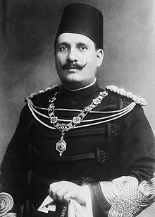 Koning Fuad I van Egypte en Soedan