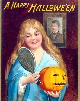 Happy Halloween - Ellen Clapsaddle, 1904