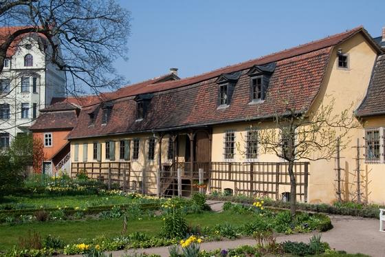 Goethes huis en tuin. Bron: CC/Maros M r a z