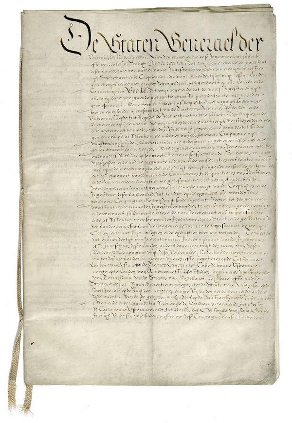 Octrooi voor de West-Indische Compagnie, 1621 - Nationaal Archief