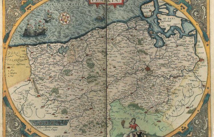 'Flandria' in de door de KB verworven atlas
