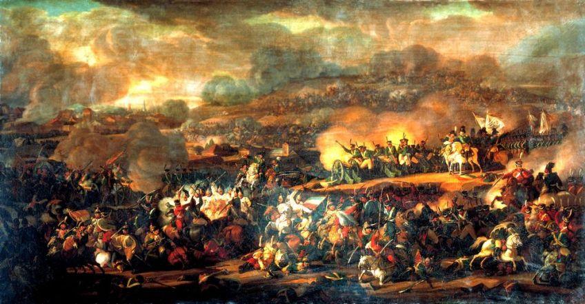 Slag bij Leipzig - Vladimir Moshkov, 1815