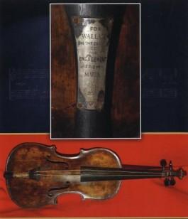 De viool van bandleider Wallace Hartley - Foto: .henry-aldridge.co.uk