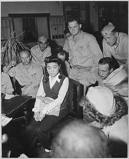 Interview met Iva Toguri in september 1945