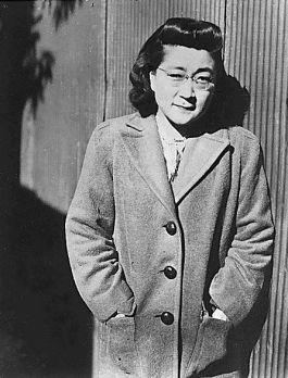 Iva Toguri in december 1944 bij ´Radio Tokyo´