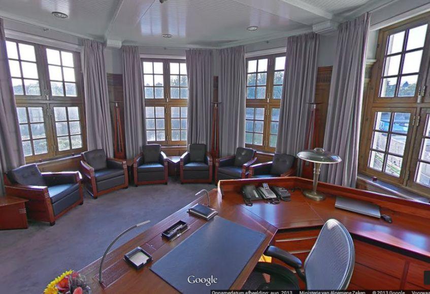De premierbonus wordt niet altijd uitgekeerd - Het Torentje van de premier op Google Street View