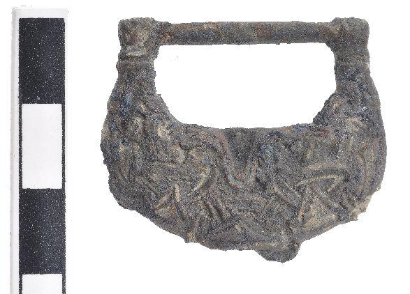 De negende-eeuwse Viking-gesp - Foto: SCEZ