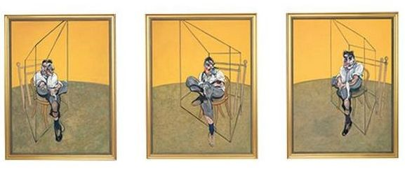 Three Studies of Lucian Freud - Francis Bacon, 1969