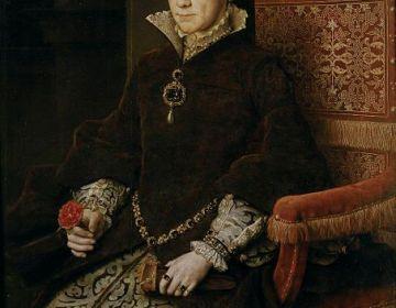 Mary Tudor, Maria I van Engeland - Antonis Mor, 1554