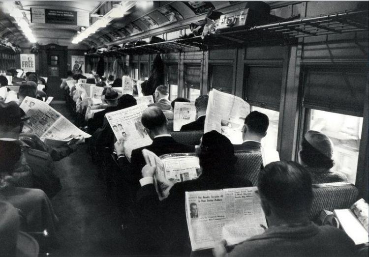 'Krantenlezers zijn asociaal' (reddit)