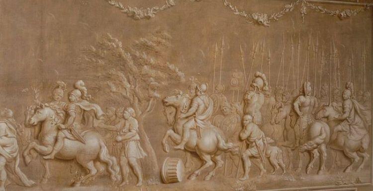 Fabius Maximus' 'Triomftocht' - Foto: Rijksdienst Cultureel Erfgoed