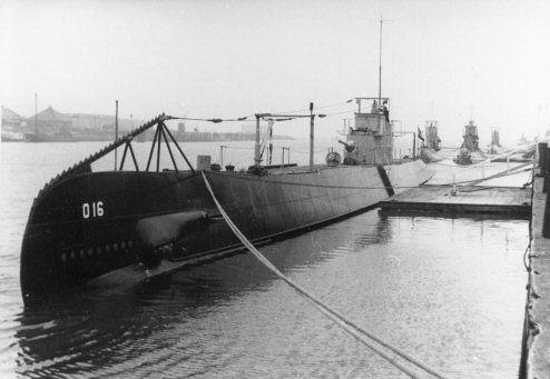 Hr. Ms. O 16 in 1938