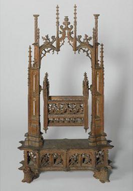 De middeleeuwse kerstwieg - Foto: Rijksmuseum