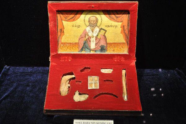 Gebeente van Nikolaas van Myra - Archeologisch Museum van Antalya