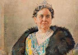 De voorstudie van het portret van koningin Wilhelmina - Willem Hofker (Teylers Musem)