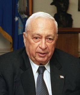 Ariel Sharon in 2002