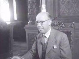 Piet Lieftinck. Zijn bezuinigingspolitiek liep in 1952 af.