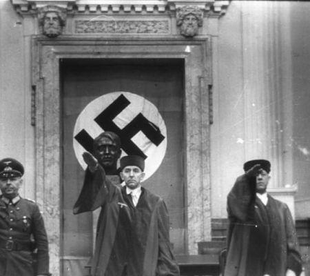 Roland Freisler als president van het Volksgerichtshof