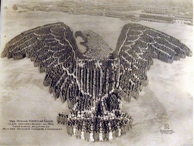 The Human American Eagle - Arthur Mole, 1918