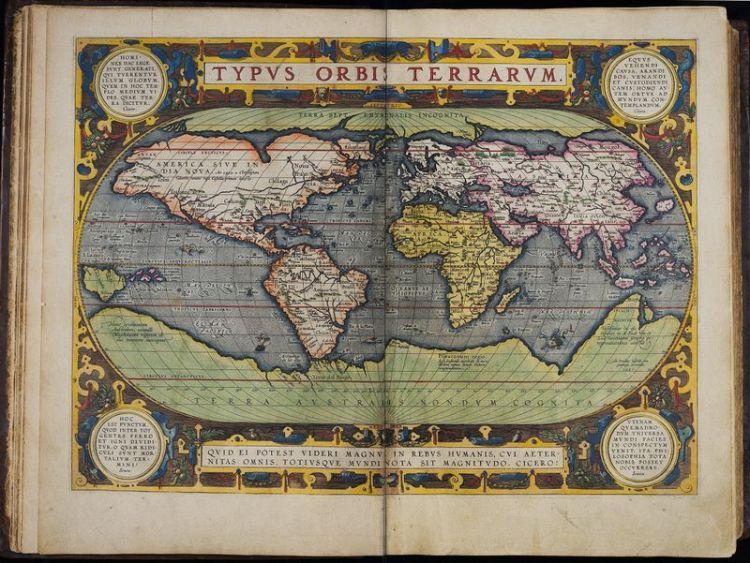 Atlas Ortelius 1597 - Het Scheepvaartmuseum