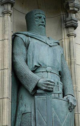 Beeld van William Wallace in Edinburgh