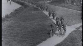 Het Nederlandse leger op de fiets