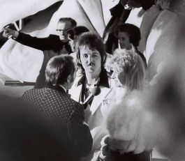 Paul en Linda McCartney in 1974 (CC)
