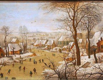Pieter Brueghel de Jonge - Winterlandschap met vogelval, 1631