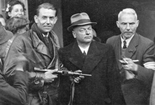 De executie van Anton Mussert (7 mei 1946)