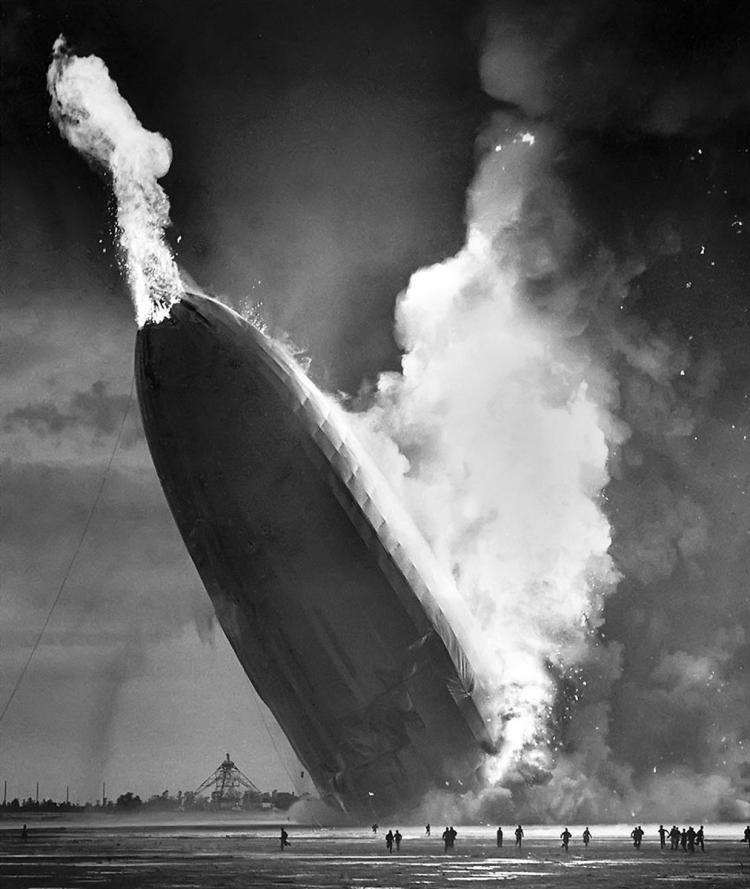 De ramp met de Hindenburg (1937)