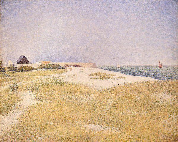 Fort Samson - Georges Seurat, 1885