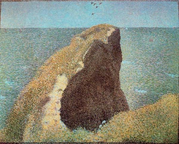 Le Bec du Hoc à Grandcamp - Georges Seurat, 1885