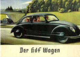 Uit een folder voor de Volkswagen of KdF-Wagen uit 1938.