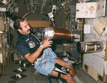 Wubbo in spacelab - NASA