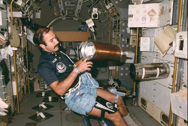 Wubbo in spacelab - NASA