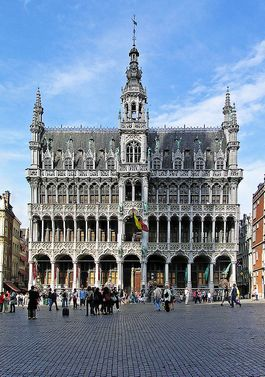 Broodhuis op de Brusselse Grote Markt (cc - Donaldytong)